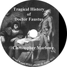The Tragical History of Doctor Faustus, Christopher Marlowe Audiobook 1 MP3 CD