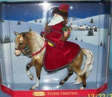 Breyer Holiday Horse 2004 Father Christmas w/ Golden Marabella