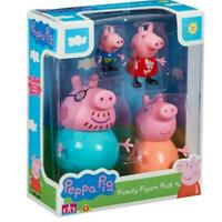 Peppa Pig Family figure pack Mummy Daddy Peppa George 4 pack