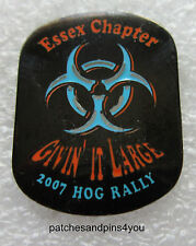 Harley Davidson HOG Essex Chapter 2007 Rally Pin. New. FREE UK P&P!