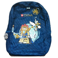 "Lego Legends of Chima Backpack Child 16"" L 11"" W 6.5"" D W/ Storm Trooper Pinback"