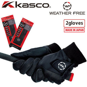 2020 Kasco Golf Japan WEATHER FREE Cold protection 2gloves WFSF-2028W for Men's