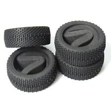 4pcs OD-112mm Rubber Tires Tyre with Foam for RC 1/8 Off-Road Car Buggy Crawler