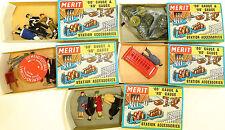 5 Kit de figuras MERIT 5006 5058 5078 5092 5123 emb.orig 00 H0 Calibre å