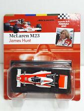 New listing McLaren M23 1976 #4 James Hunt World Champion formula 1 1:43 Altaya