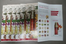 Clarins Double Serum Hydric + Limpidic Anti-Aging sample packets Lot of 7