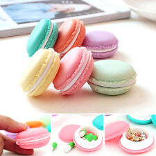 6 Pcs Random Color Cute Macaroon Jewelry Earphone Pill Storage Box Case Exotic