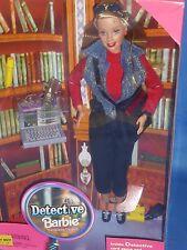 ♥ NRFB RAR 1999 Top DETECTIVE INVESTIGATORE Barbie Set fotocamera cellulare torcia WOW