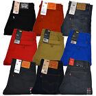 Levis 511 Mens Jeans Slim Fit Slightly Tapered Leg Denim Sits Below Waist New
