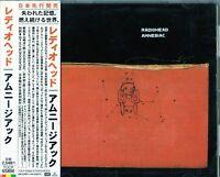 Radiohead - Amnesiac JAPAN CD OBI_TOCP-65800
