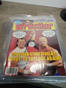 THE WRESTLER November 1990 Magazine Sting,Lex Luger,Brutis The Barber Accident