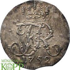AA2791) Brandenburg-Preußen 1/24 Taler 1752 A Friedrich II. 1740-1786