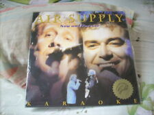 a941981 Air Supply Karaoke LD 12-inch Laser Disc Sealed Now and Forever Live
