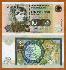 Scotland Clydesdale Bank, 10 pounds, 1997 P-226a UNC > Mary Slessor