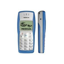 Nokia 1100 - Blue (Factory Unlocked!) Cellular Phone.