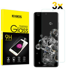 3-Pack Khaos For Samsung Galaxy S20 Ultra Tempered Glass Screen Protector