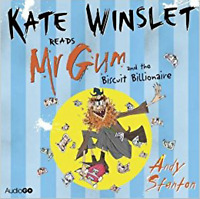 MR GUM AND THE BISCUIT BILLIONAIRE READ BY KATE WINSLET- AUDIO BOOK - NEW