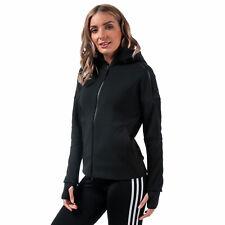 Adidas para mujer z.n.e. gota de cremallera completa de dos vías hombro con Capucha 2.0 en Negro