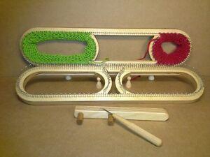 112 Strickrahmen XL verstellbar Strickring Strickstab Strickbrett Knitting Loom
