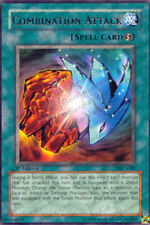 3x Combination Attack - MFC-030 - Rare - 1st Edition MFC - Magician's Force YuGi