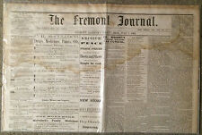 1865 Fremont, Ohio Newspaper - Fire Department