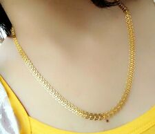 Brand Good Trending Gift Stylish Bs Gold Plated Necklace Chain Lady Miami Cuban