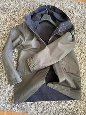 Stone Island Jacket, Size L, Double-sided, Military Green / Black, 100% Genuine