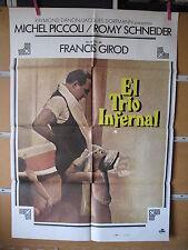 A1900  EL TRIO INFERNAL ROMY SCHNEIDER