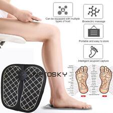 Electric Automatic Circulation Leg Foot Massager Shiatsu Blood W/ Remote Control