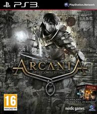 ARCANIA THE COMPLETE TALE - PlayStation 3 PS3 ~16+ RPG ~ Brand New & Sealed