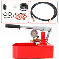 High Pressure Manual Driven Hydraulic Test Pump,10000 PSI ( Manual Valve) 7MPa