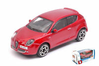 Model Car Scale 1:43 diecast Burago Alfa Romeo Mito vehicles collection