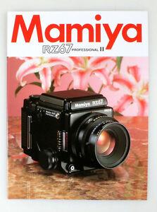 MAMIYA RZ67 PRO II BROCHURE