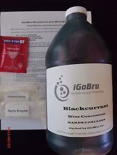 Winemaking Kit, 100% Concentrates, Blackcurrant Wine Concentrate!