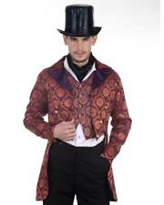 Men's Gentleman Opera Coat Steampunk, High quality hand crafted one by one COOL