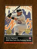 2000 World Series Topps Baseball Base Card - Benny Agbayani - New York Mets