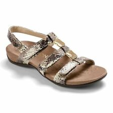 Wide (E) Textured Sandals & Beach Shoes for Women