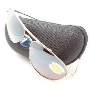 Costa Del Mar Cook Rose Gold Copper Silver 580P COO164 New Sunglasses Authentic