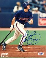 SHAWN GREEN SIGNED AUTOGRAPHED 8x10 PHOTO + 30/30 TORONTO BLUE JAYS PSA/DNA