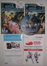 Sin and Punishment: Star Successor (Nintendo Wii, 2010) COMPLETE w/ Manual