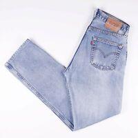 Vintage LEVI'S 517 04 Men's Straight Fit Blue Jeans W32 L34