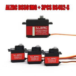 ALZRC DS501MG+DS452S Digital Servo For X360 450 480 500 RC Helicopter