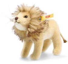Steiff Lion in National Geographic gift box - mohair collectable - 026669