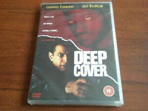 Deep Cover (DVD) NEW AND SEALED RARE UK REGION 2 ISSUE Laurence Fishburne