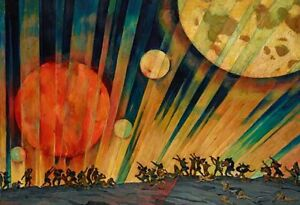 New Planet : 1921 : Konstantin Yuon : Archival Art Print