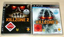 2 PLAYSTATION 3 SPIELE SET - KILLZONE 2 & KILLZONE 3 - PS3