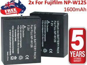 2×NP-W126s W126 Battery for FujiFilm Fuji XT-10 XT10 X-T20 X-A10 (x 2 pieces)