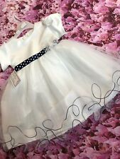 Girls Party Bridesmaid Occasion Dress 12-18 Months