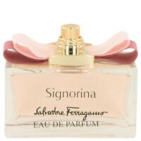 Signorina Perfume by Salvatore Ferragamo, Eau De Parfum Spray (Tester) 3.4 oz