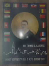 Programme Tournament Caligaris 1969 in Italy (West Ham, CSKA Sofia, Inter)